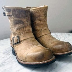 EUC Frye Engineer 8R Boots
